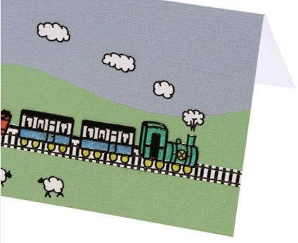 making-train-birthday-card-step2