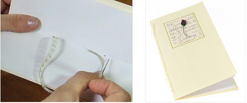 making-wedding-card